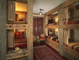 Plans For Building Log Bunk B by Best 25 Rustic Bunk Beds Ideas On Pinterest Wooden Bunk Beds