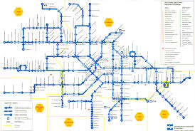 Chicago Trolley Map by Metro Transit Maps