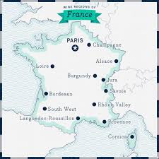 Champagne France Map by French Wine Wines From France Spirited Wines