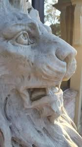 marble lions for sale pair of 19th century marble lion statues for sale at
