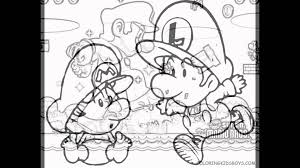 mario kart coloring pages youtube
