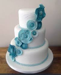 blue flowers for wedding the best sugar flower wedding cakes exquisite floral additions