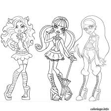 Coloriage Monster High dessin
