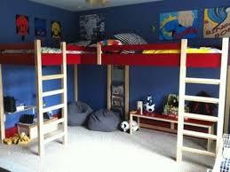 Two Bunk Beds Loft Bunk Bed For Thedigitalhandshake Furniture