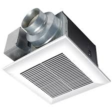 Bathroom Exhaust Fan Sidewall Panasonic Whisperceiling 80 Cfm Ceiling Exhaust Bath Fan Energy