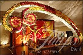mehndi decoration tulips event best wedding stage decoration flowering