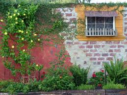 Garden Brick Wall Design Ideas Brick Wall Garden Designs Decorating Ideas Design Trends