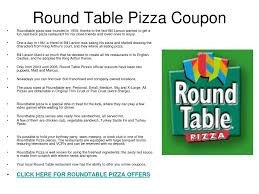 Round Table Pizza Buffet Hours by Coupons For Round Table