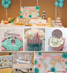 theme bridal shower my travel themed bridal shower perpetually daydreaming