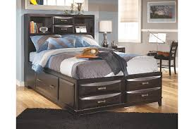 Full Bed With Storage Bedroom Dazzling Kira Full Storage Bed Ashley Furniture Home