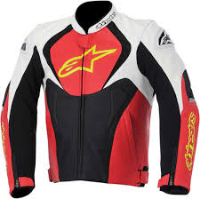 motorcycle racing jacket 2016 alpinestars jaws perforated leather jacket street bike