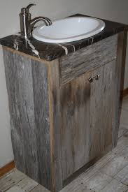 Rustic Bathroom Vanity Cabinets by Lovable Rustic Bathroom Vanities With Tops Using Granite Worktops