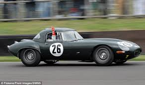 rare jaguar e type regarded as one of the most desirable cars ever