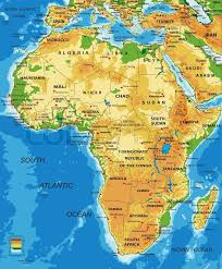 angola physical map highly detailed physical map of africa in vector format with all