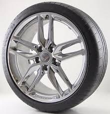 used corvette tires 19 chevrolet corvette z51 chrome used wheel tire factory oem