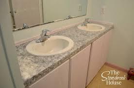 easy faux granite countertops hometalk