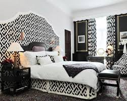 black and white and green bedroom ideas white bed grey headboard