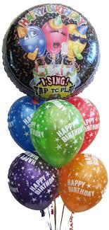 singing birthday balloons singing balloons helium balloons perth happy birthday singing