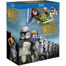star wars the clone wars season 1 5 collectors edition blu ray