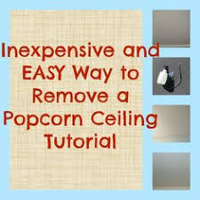 Easiest Way To Scrape Popcorn Ceiling by How And How Not To Remove Popcorn Ceilings Popcorn Ceiling