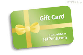 gift card jetpens gift card e mail delivery jetpens