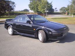 1986 toyota mr2 mk1 in black m o t good original condition in