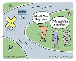 Meme Math Problem - math problem wrong hands
