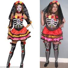 Tina Turner Halloween Costume Francesca Kentish Puts U0027sexy U0027 Halloween Costumes Test
