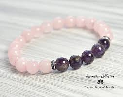 bracelet quartz rose images Best 25 amethyst bracelet ideas friendship jpg