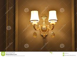 Wall Lights Living Room Luxury Crystal Wall Lighting Stock Photo Image 51861515