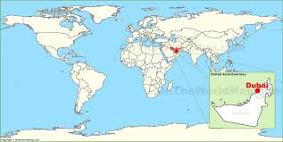 Uae Blank Map by Where Is Dubai Located On The World Map Whereisdubaicom Map Of