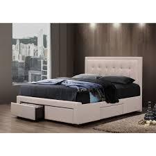 home yes furniture online queen fabric 4 drawers bed ow