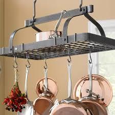 cuisine en pot j enclume grande cuisine rectangular ceiling pot rack williams sonoma