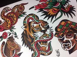 snake tiger tattoo tattoojoris tattoojoris