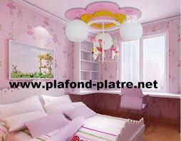 le de plafond pour chambre chambre des filles décoration plafond moderne plafond platre
