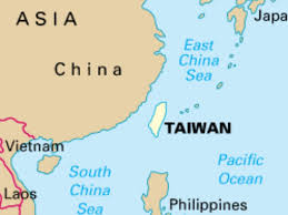 Taiwan Map Asia by Taiwan By Sturdevant K820512