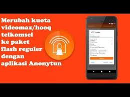 cara merubah kuota hooq menjadi paket menggunakan anonyton trik cara merubah kuota hooq menjadi kuota flash menggunakan