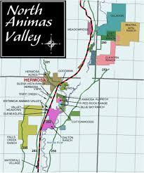 Map Of Durango Colorado by Neighborhoods North Animas Valley Durango Map