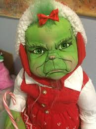 Baby Grinch Halloween Costume Announcing Grinch Baby Twisted Bean Stalk
