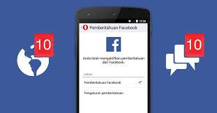 buat akun instagram via operamini cek notifikasi facebook kamu dengan opera mini
