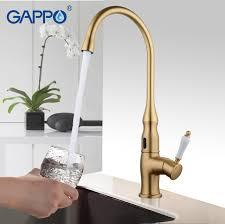 le infrarouge cuisine gappo or robinet de cuisine torneira cozinha d eau capteur robinets