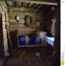 maison en bois interieur intérieur de vieille maison en bois rurale photo stock image