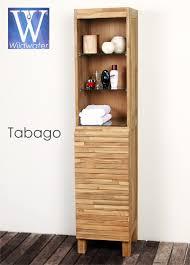 Teak Bathroom Cabinet Bathroom Furniture The Tabago Collection