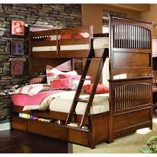 Plans For Bunk Bed With Trundle by Full Over Full Bunk Bed Plans With Stair And Trundle Full Over