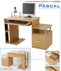 Computer Schreibtisch Buche Albatros Computertisch Pascal Buche Computertische