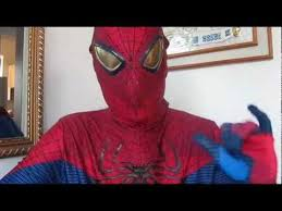 the amazing spiderman deluxe halloween costume review youtube