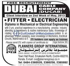 mechanical engineering jobs in dubai for freshers 2013 nissan ducab dubai free recruitmant gulf jobs for malayalees