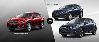 mazda car lineup 2016 mazda cx 5 trim comparison
