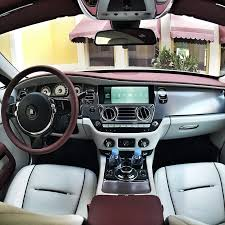 bentley wraith interior know the car rolls royce wraith maqina middle east