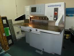 guillotines used finishing machines wohlenberg 76 cut tech guillotine